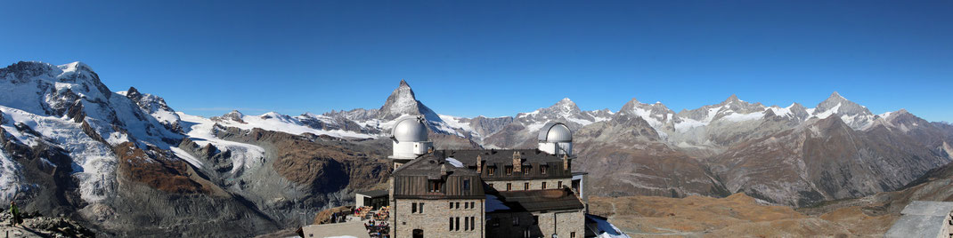 Gornergrat Panorama west