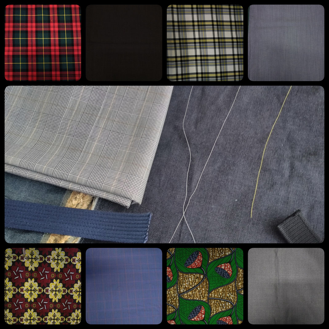 Pour le kilt sur mesure, chaque homme définit son style qu'il soit chic, élégant, moderne, sobre ou classique. Chez sous les jupes des Hommes, nous vous offrons une gamme de tissus en jean, laine, coton, tartan, wax, professionnel, colorée,...