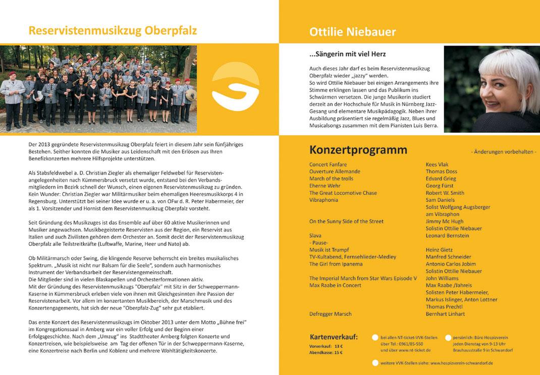 Musik für eine gute Sache - Hospizverein Stadt und Landkreis Schwandorf