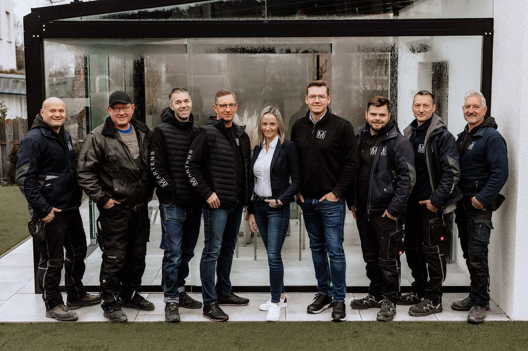 Martens Studio Lübbecke Bauelemente Sonnenschutz Terrassendach Lamellendach