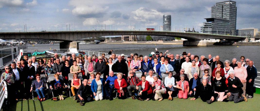 Cologne : Retour des passagers après la visite de la cathérale