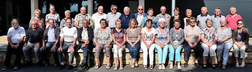 Le Pertre : Lundi 3 septembre en matinée, réunion de planification des activités 2019 pour les responsables des 9 clubs du secteur d'Argentré du Plessis