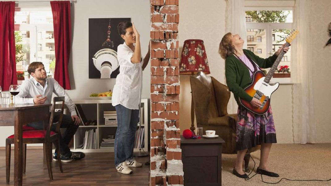 ¿Tienes vecinos ruidosos? esto debes hacer