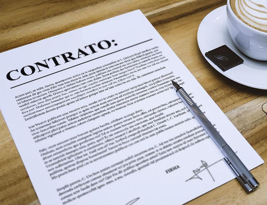 ¿Cómo redactar un contrato de compra venta de inmuebles?