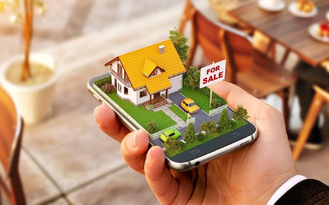 Pagina web para bienes raíces