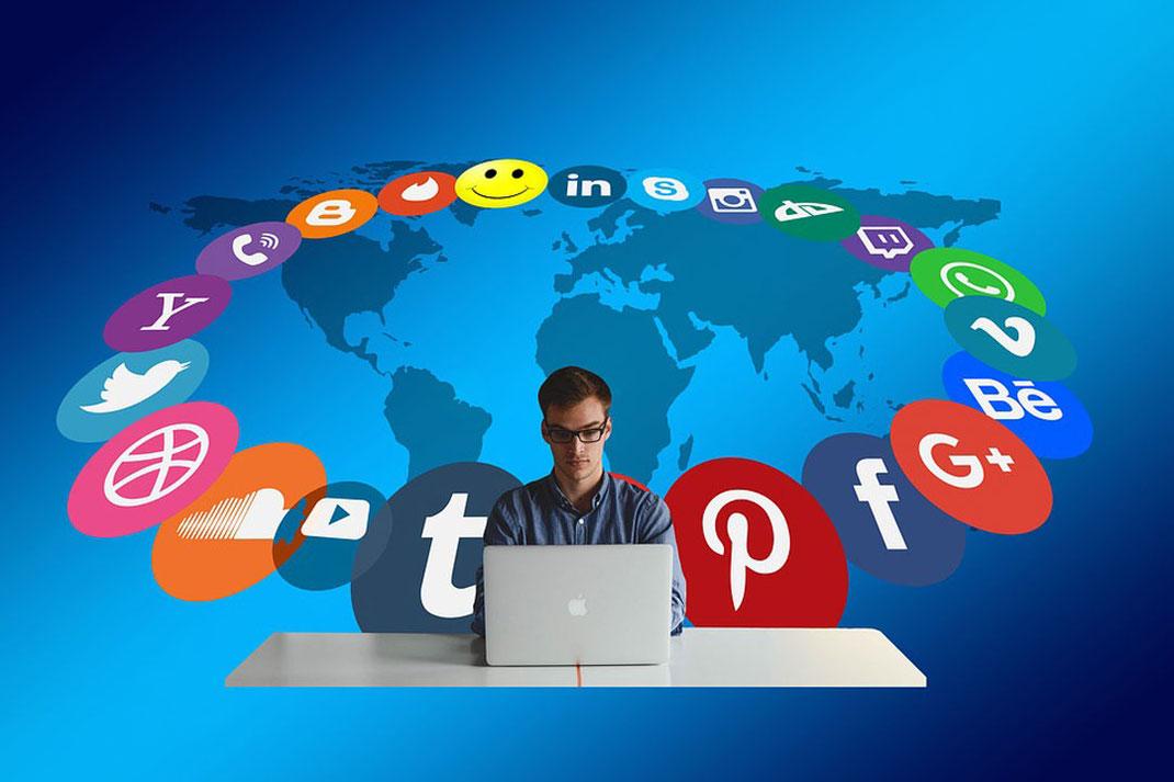 Como utilizar las redes sociales siendo agente de bienes raices