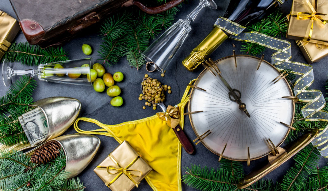 Ritos para recibir un año nuevo en casa