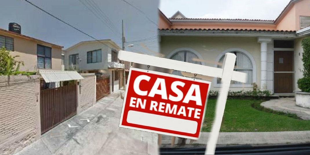 venta de casas en remate