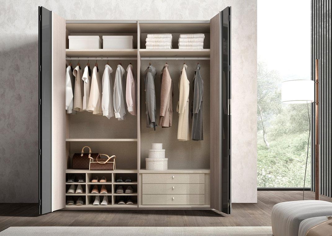 Pasos para diseñar un closet ideal para tu espacio