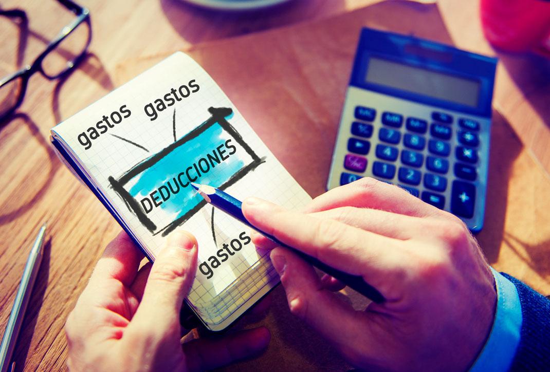 Gastos mensuales y anuales deducibles para arrendatarios