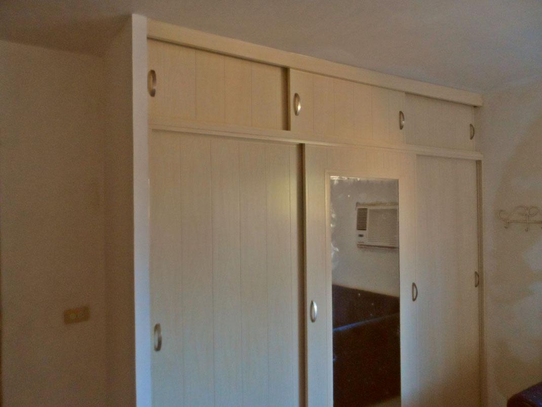 Tipos de puertas para closet