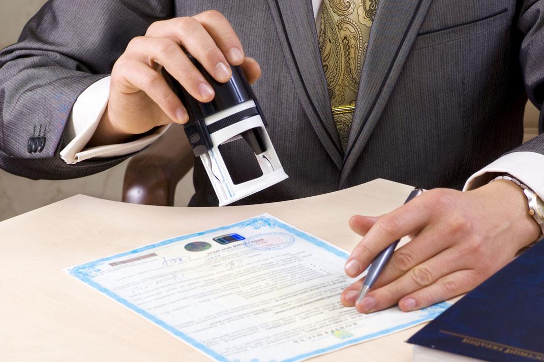 Función de un notario publico en bienes raíces