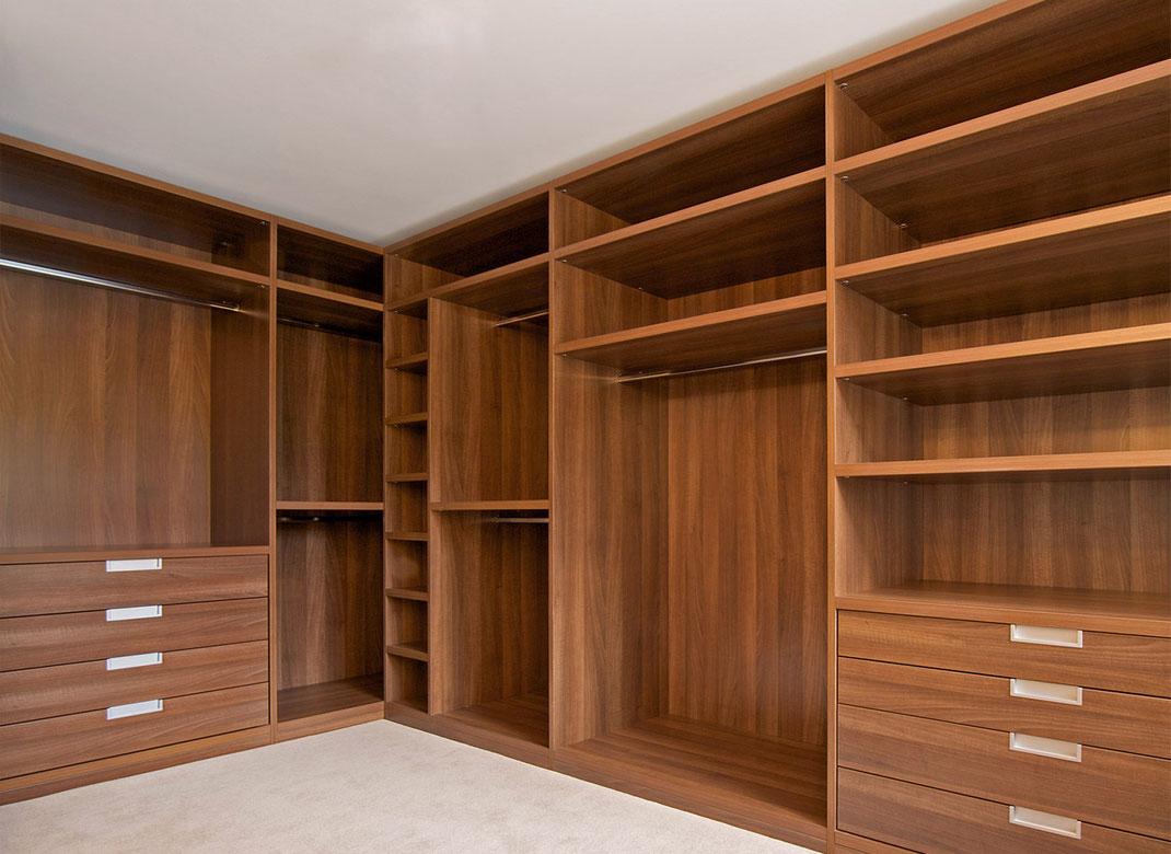 10 pasos para armar un closet de madera