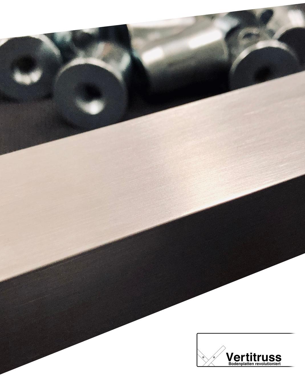 Aluminium und Konusse für unsere MXA-1000 Bodenplatten für Traversen