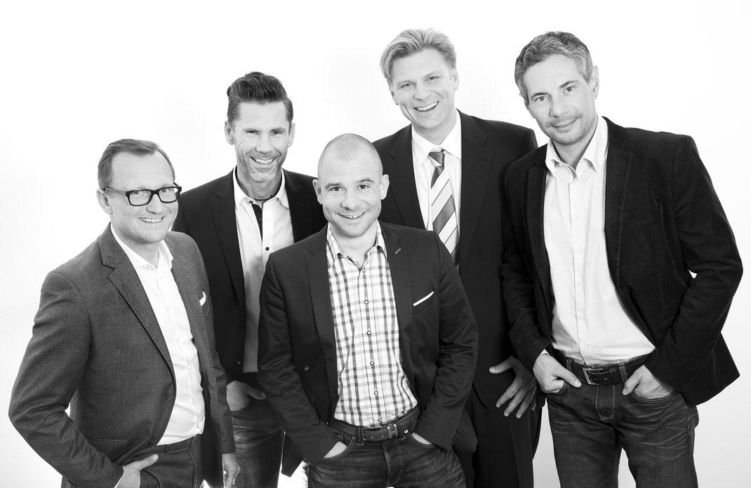 ASFALIA Versicherungsteam | Mag. Gerald Hermüller | Günter Resch | Hannes Schneiderbauer MBA | Klaus Rampetsreiter | Gerald Fuchs