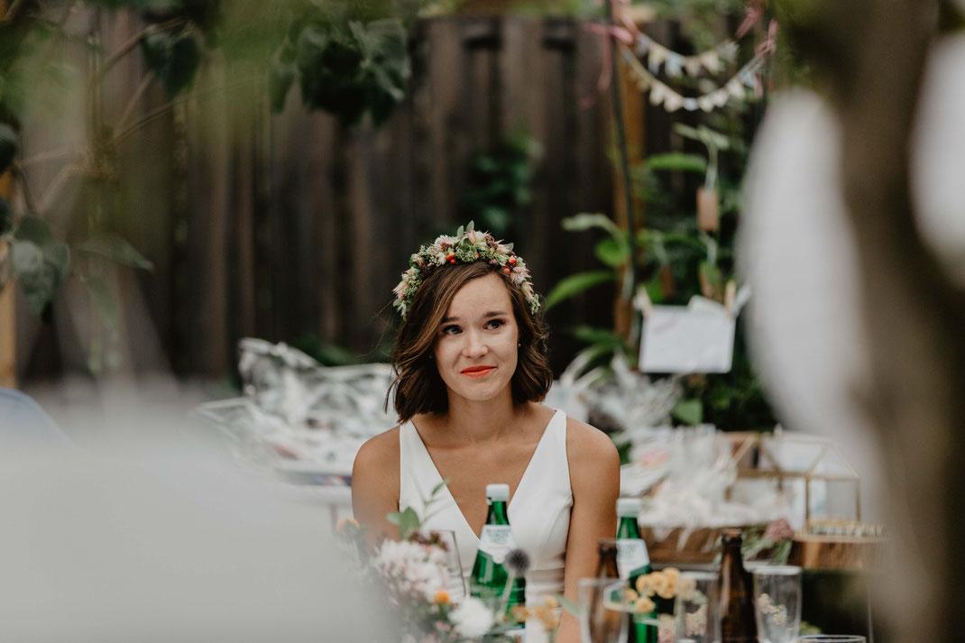 Emotionale Hochzeit Braut Hochzeitsreportage Hochzeitsfotograf Berlin
