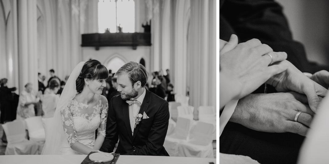 Trauung im Schloss Kröchlendorff Kirche standesamtlich heiraten Hochzeit in der Uckermark