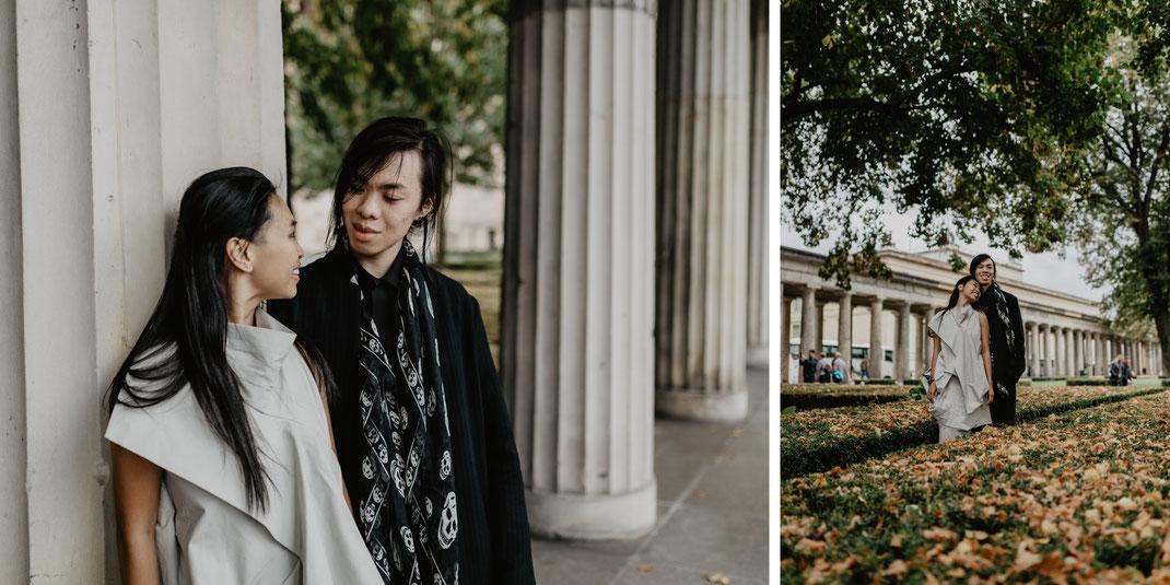 Museumsinsel Berlin Mitte Hochzeitsfotos Hochzeitsreportage