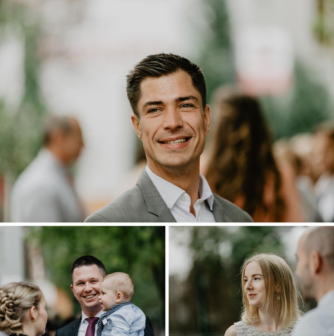Gäste Standesamt Eichwalde Hochzeitsfotograf Berlin