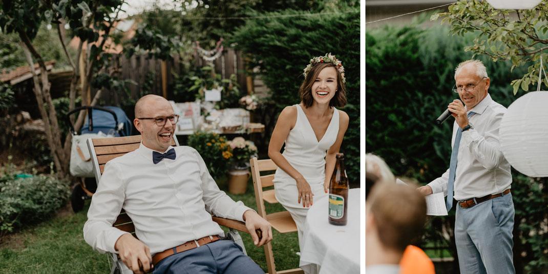 Gartenhochzeit Reden Hochzeitsreportage Hochzeitsfotograf Berlin