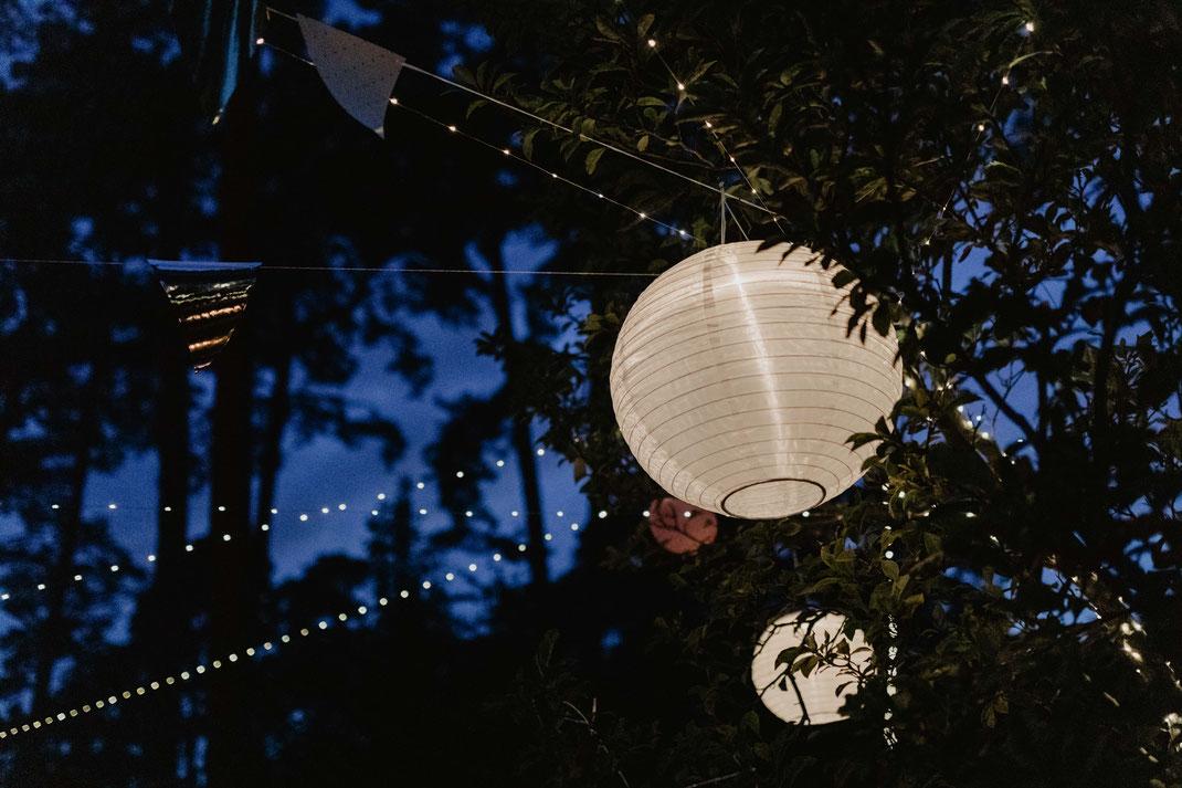Gartenhochzeit Deko Ideen Inspiration Lampion