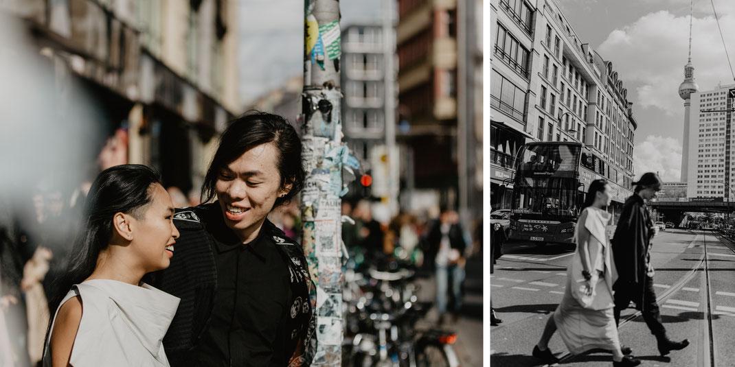 Hackescher Markt Berlin Mitte Hochzeitsfotos Hochzeitsreportage urban street photography