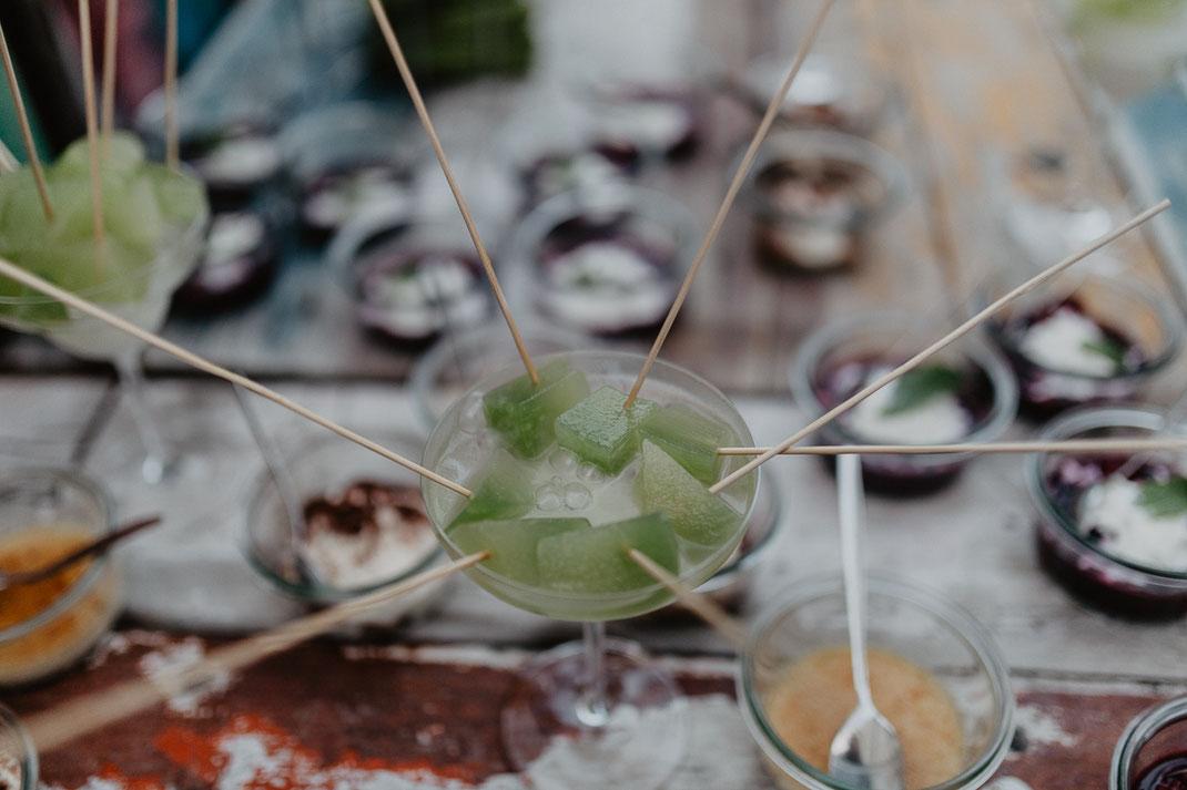 Dessert Hochzeit Hochzeitsessen Catering Strandhaus Altefähr Rügen Hochzeitsfotos