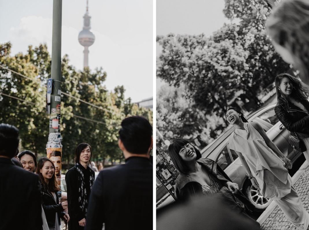 Rosenthaler Platz Berlin Mitte Hochzeit feiern Hochzeitsreportage