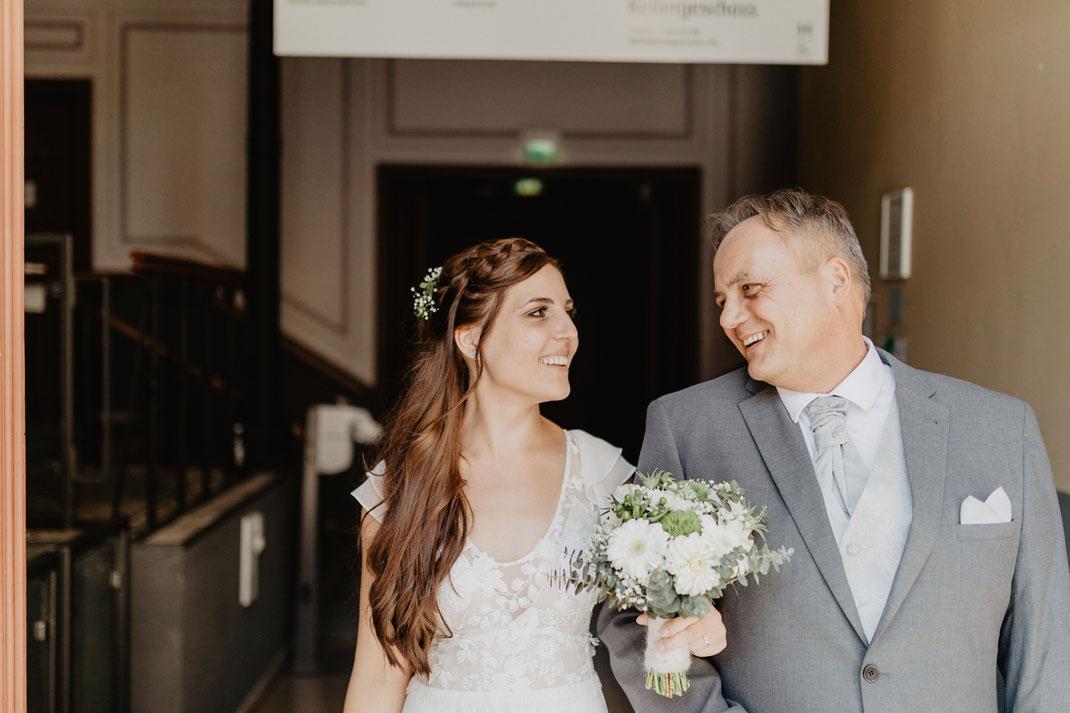 Trauung und Hochzeit in der St. Annen und Brigitten Kapelle im Standesamt Stralsund bei Rügen