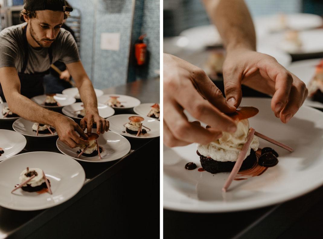 Hochzeitessen Dinner Abendessen Catering im Von Greifswald Berlin Erfahrungen Hochzeitsreportage Hochzeitsfotografie Menu Hochzeit