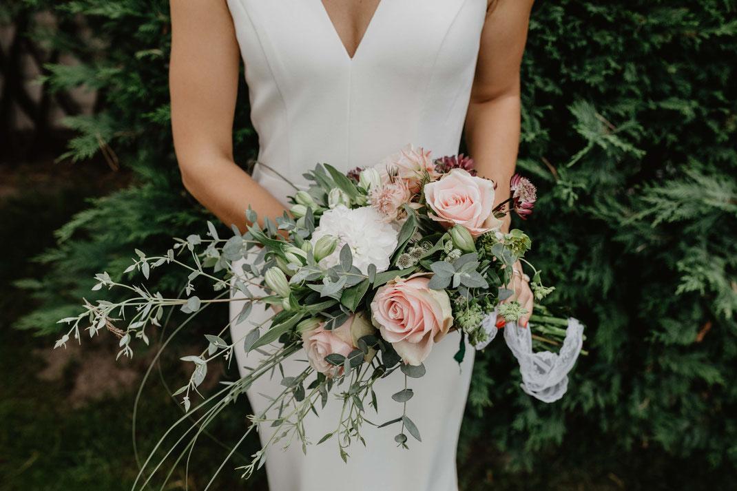 Brautstrauß Hochzeitsfotos Wildau Dahme Hochzeitsfotograf Berlin
