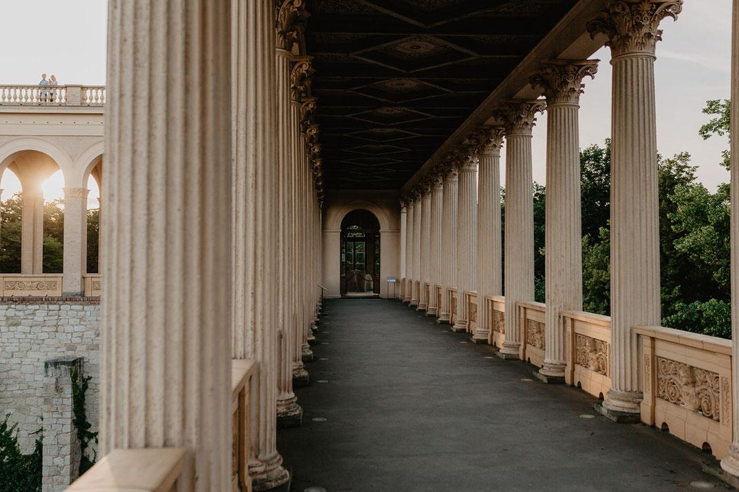 Hochzeit im Maurischen Kabinett standesamtliche Trauung im Belvedere Pfingstberg Potsdam