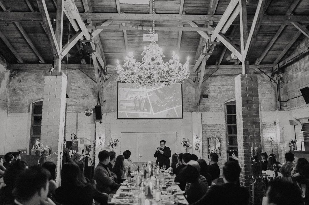 Hochzeit im Von Greifswald Restaurant Berlin Hochzeitsreportage Hochzeitsfotograf Hochzeitslocation