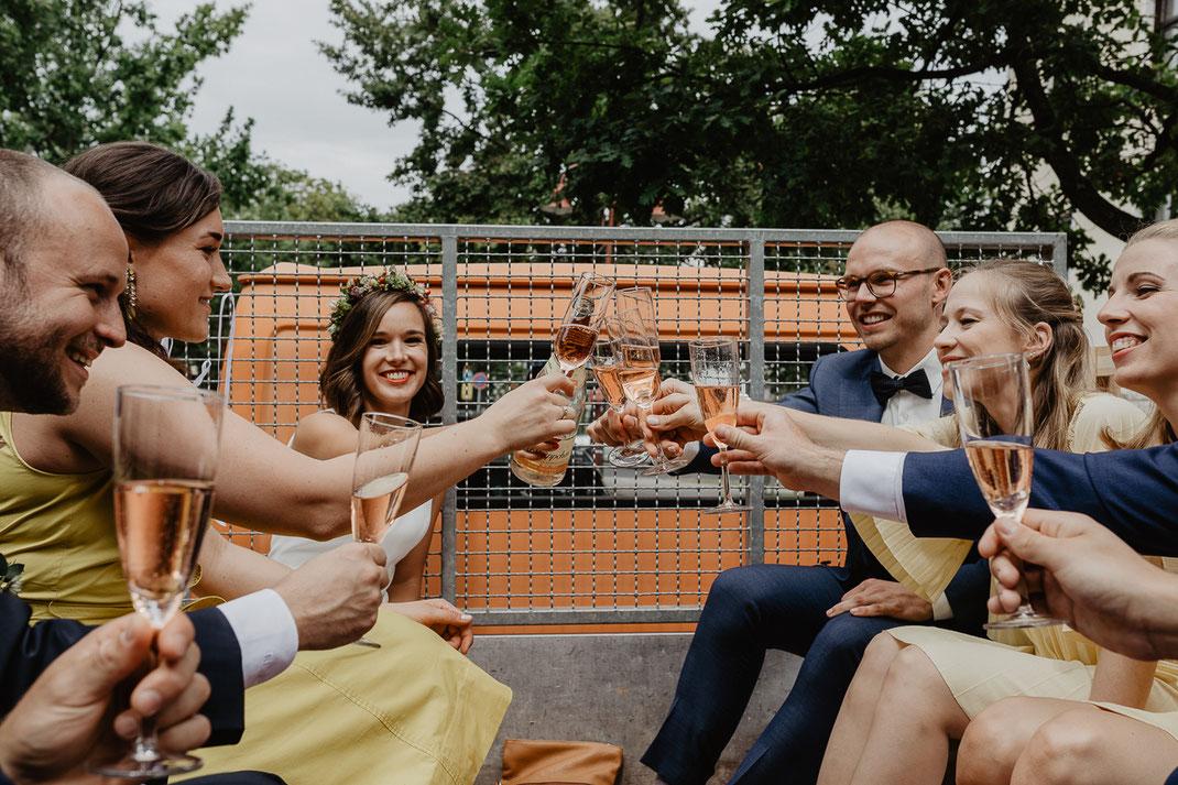 Hochzeitsgesellschaft Wildau Eichwalde Hochzeitsfotograf Berlin