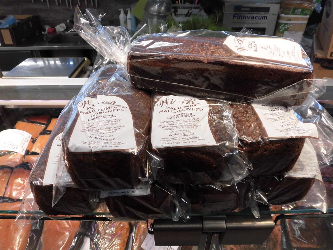 僕の好きな、黒ライ麦パンも売ってます。