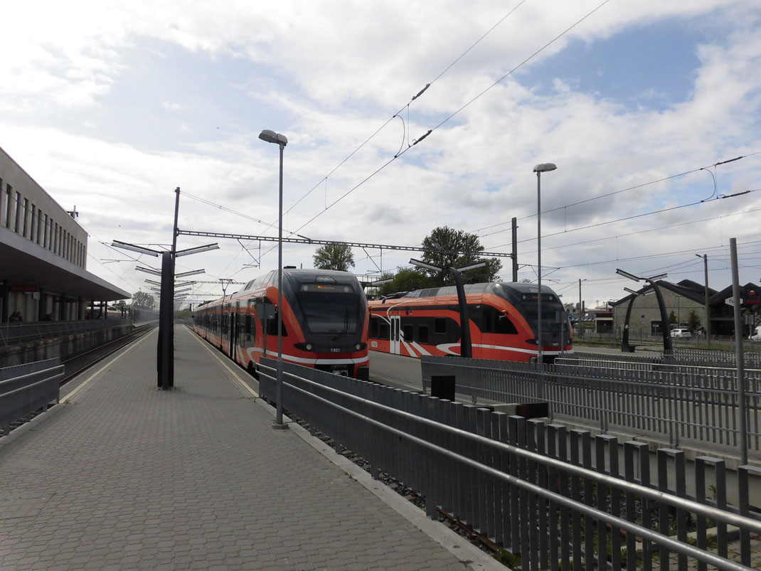 バルト駅から電車で移動できます