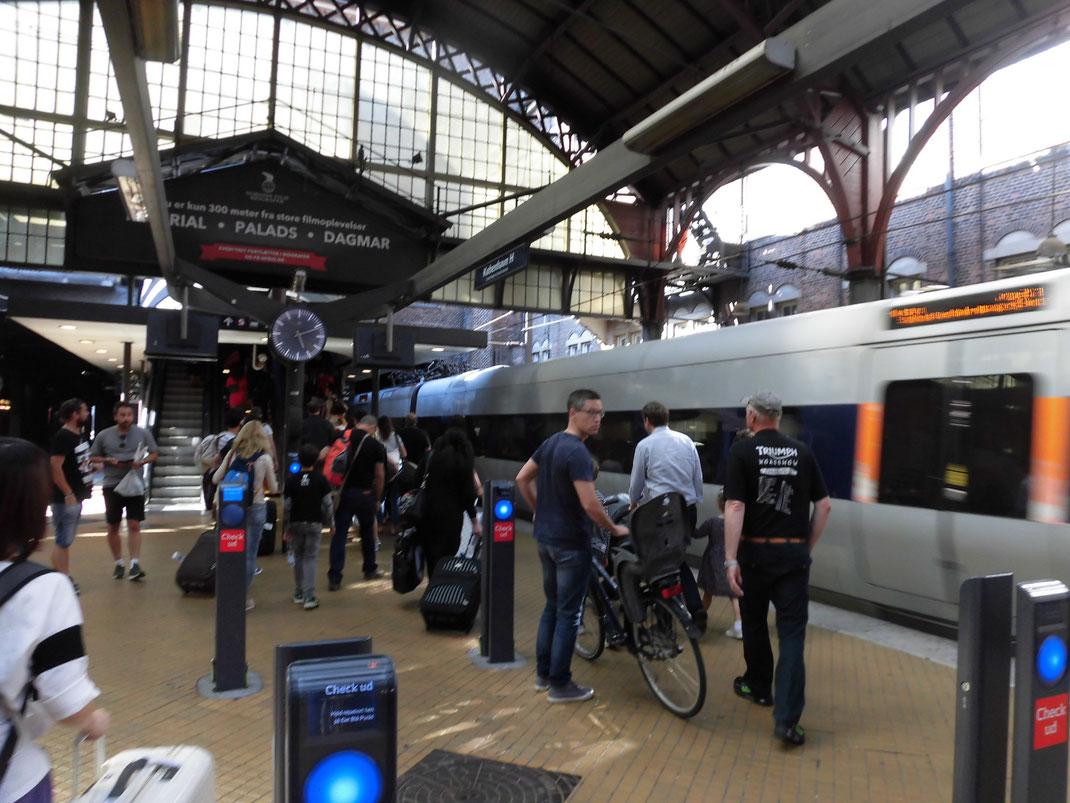 自転車は電車に持ち込めるのが北欧だ
