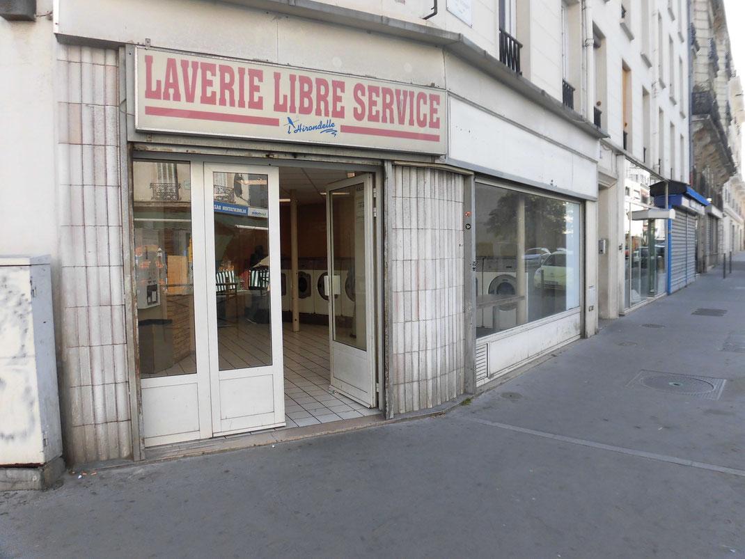 パリでも多かったコインランドリー