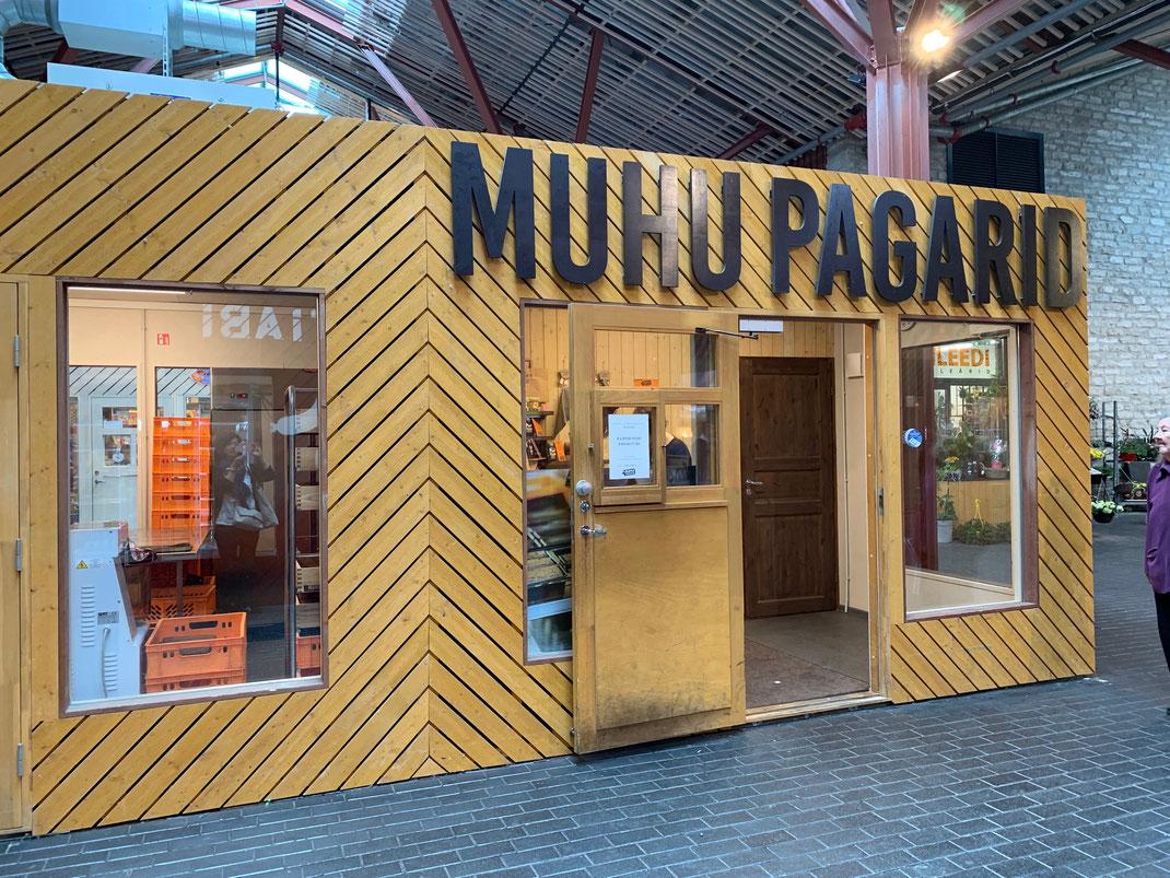 バルト駅TURG(市場)はテイクアウト店。テリシキヴィにはMUHUのレストランがあります