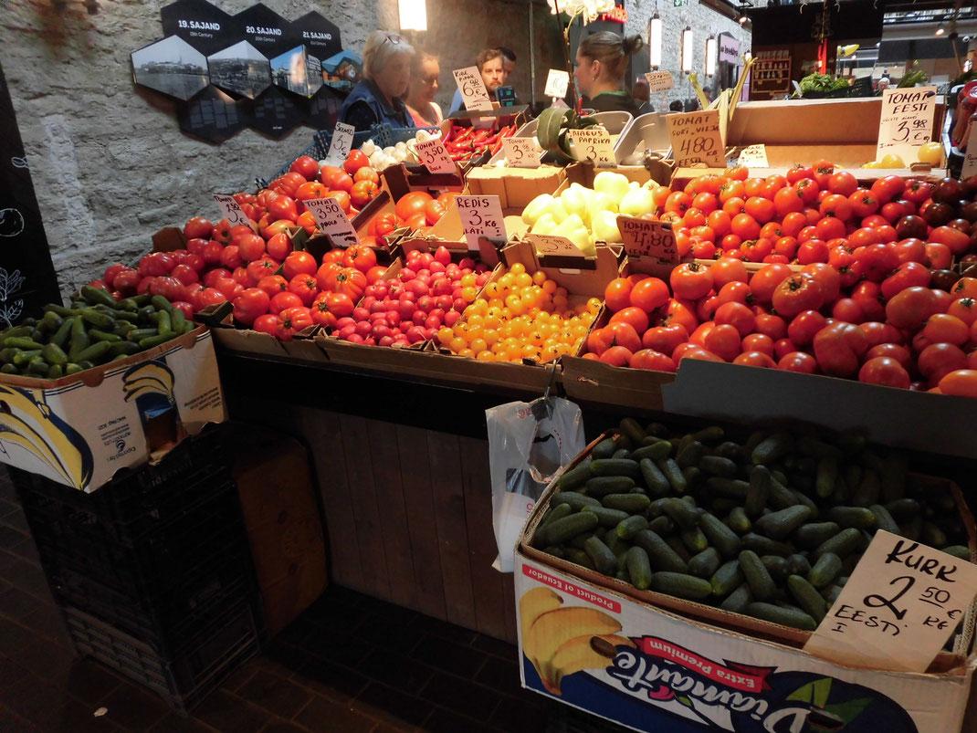 欧州はトマトの種類が多い。