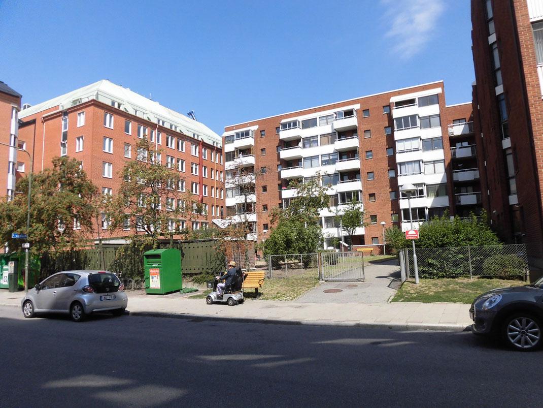 市街地が近いところは団地風のマンションが多いです