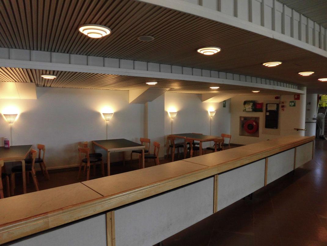アアルト大学内の打合せスペース