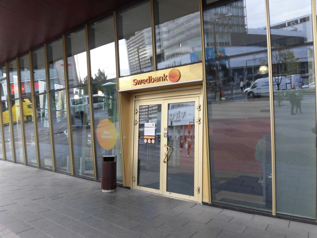 スウェーデンとバルト3国にあるスウェド銀行