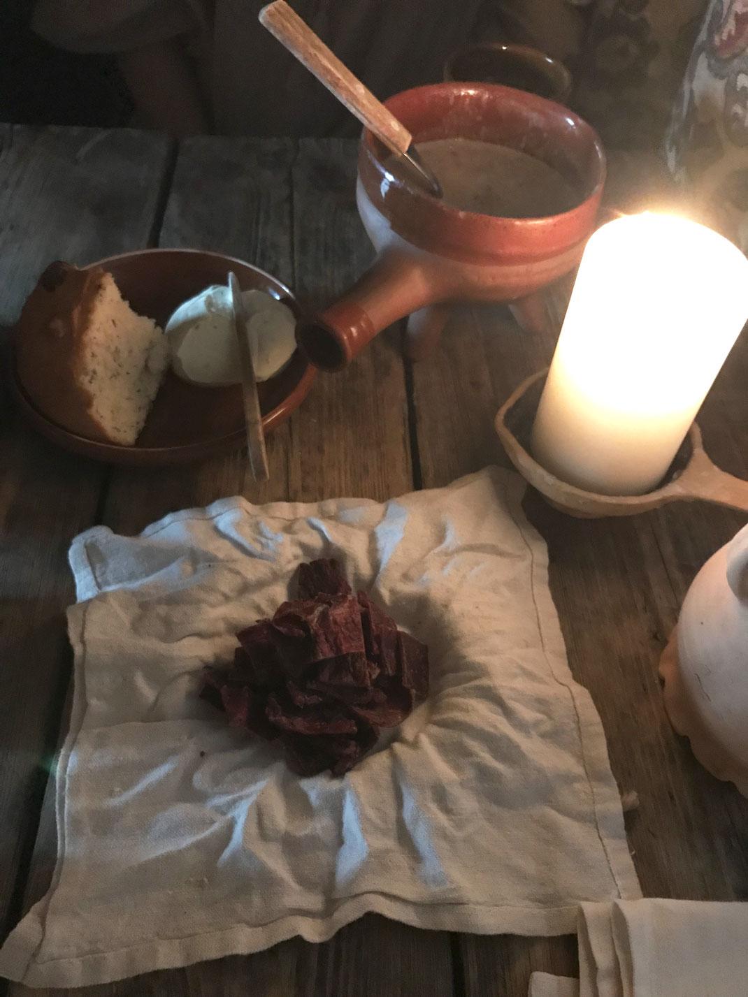 トナカイ肉ジャーキー(くんせい肉)