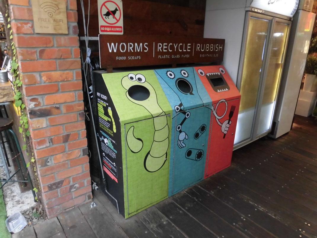 このゴミ箱なら、うちの外国人入居者も分別してくれるかも。って思いました