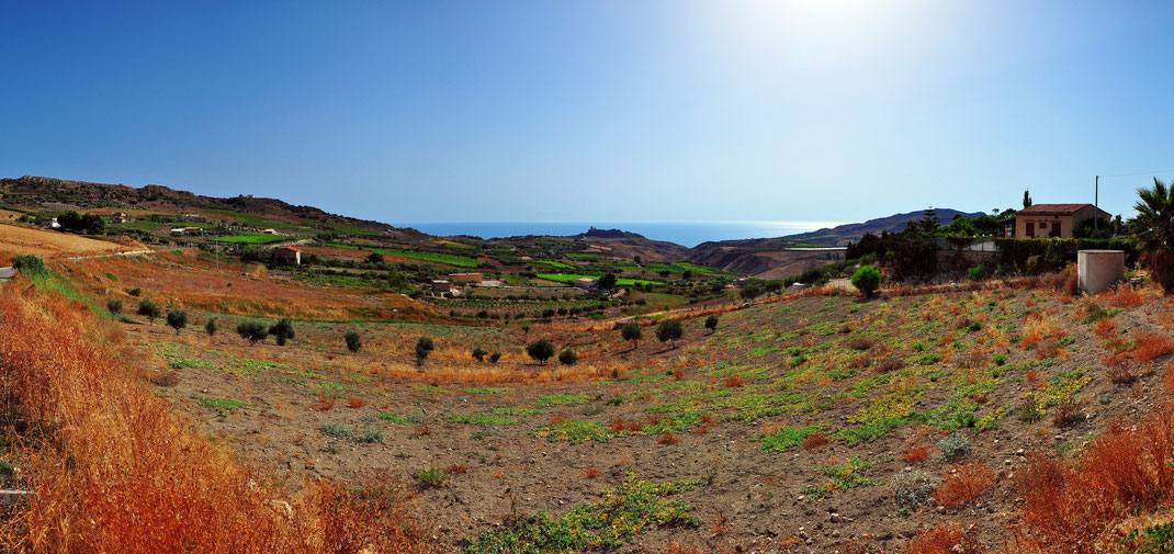 Sicilian country side - Agrigento, Italy