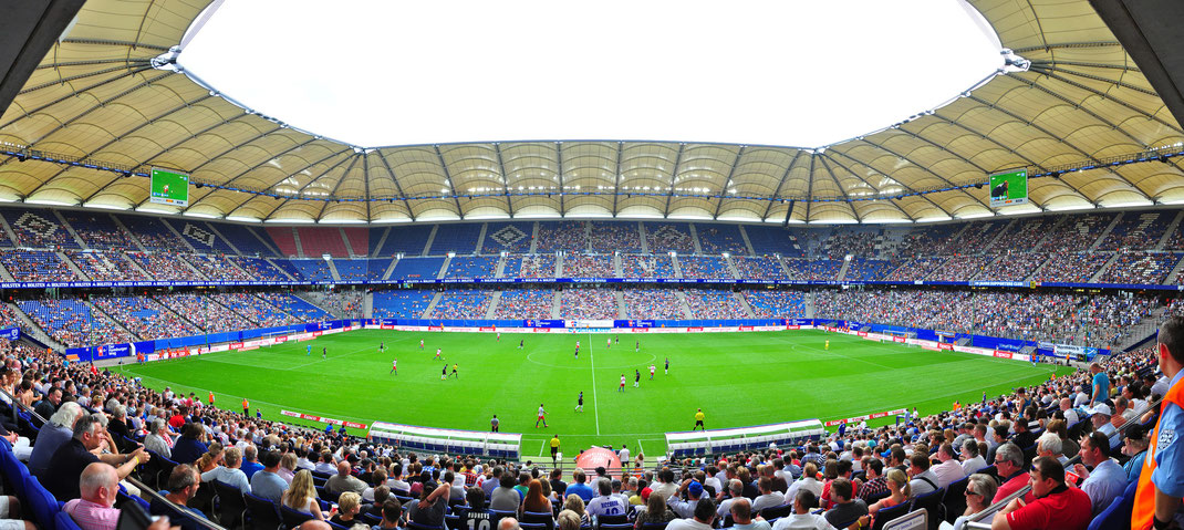 Imtech Arena HSV Stadium - Hamburg, Germany
