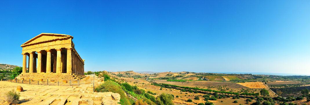 Valle dei templi - Panorama