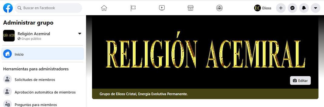 La Religión Acemiral, en Facebook.com Image
