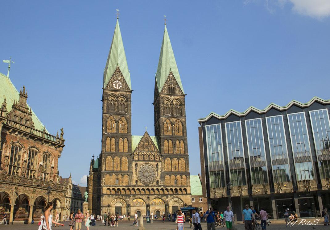 Der Bremer St. Petri im Herzen der Bremer Innenstadt